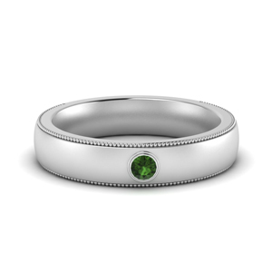 Emerald Comfort Fit Men Band