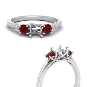 classic-three-stone-semi-mount-ruby-engagement-ring-in-FD123281SMRGRUDRANGLE3-NL-WG