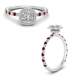 cushion-cut-double-under-halo-micropave-engagement-rings-with-ruby-in-FD123310CURGRUDRANGLE3-NL-WG