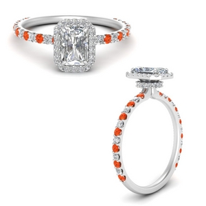 radiant-cut-double-under-halo-micropave-engagement-rings-with-orange-topaz-in-FD123310RARGPOTOANGLE3-NL-WG