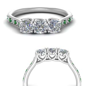 classic-prong-cushion-cut-diamond-anniversary-ring-with-emerald-in-FD123332CUGEMGRANGLE3-NL-WG