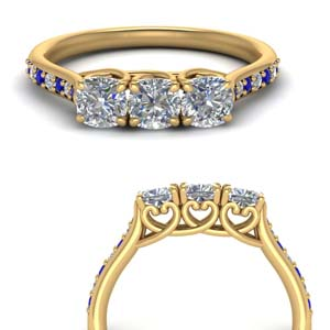 classic-prong-cushion-cut-diamond-anniversary-ring-with-sapphire-in-FD123332CUGSABLANGLE3-NL-YG