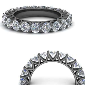 Classic 3 Ct. Round Diamond Band