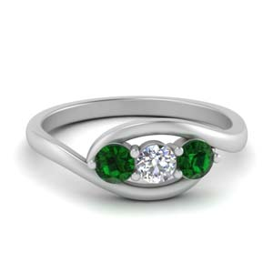 Classic Prong Emerald Ring