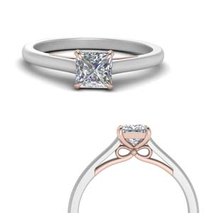 Platinum Moissanite Engagement Rings