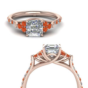 Rose Gold Cathedral Ring