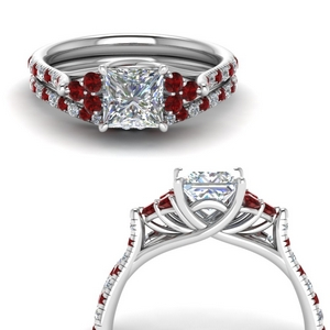 Bridal Set With Ruby