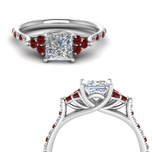 Delicate Ruby Ring For Women