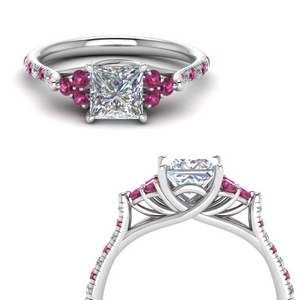 Pink Sapphire Petite Ring