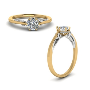 Petite Diamond Multi Tone Ring