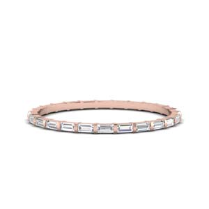 Baguette Half Carat Eternity Band