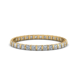 Bar Princess Diamond Band 1 Ct.