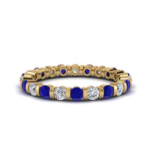1 Ct. Single Row Eternity Ring