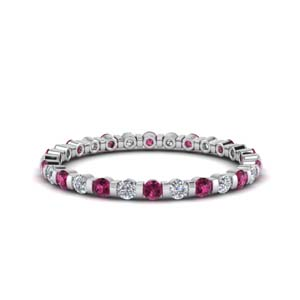 Half Ct. Round Cut Eternity Band