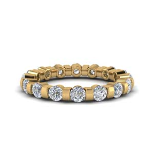 Diamond Single Row Eternity Ring
