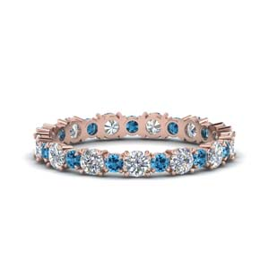Topaz Eternity Band For Her