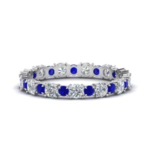 1-carat-unusual-round-diamond-eternity-band-with-sapphire-in-FD123628RO(2.50MM)GSABL-NL-WG