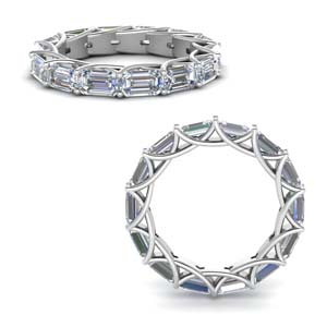 Diamond Trellis Eternity Ring