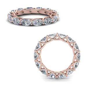 Eternity Ring In 14K Rose Gold