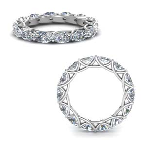 3.50 Ct. Oval Diamond Trellis Ring