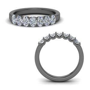 1.50 Ct. Oval Diamond Band