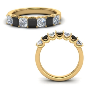 1.25 Ct. Black Diamond Band