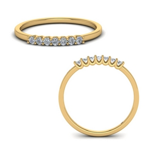 Round Stackable Ring Band