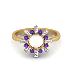 Sunrays Design Ring