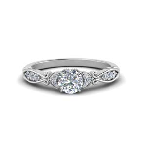 Antique Pave Diamond Ring