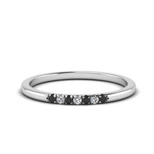 Delicate 7 Stone Wedding Band