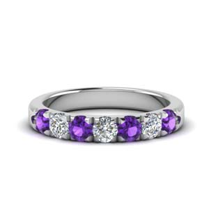 Women Purple Topaz Band