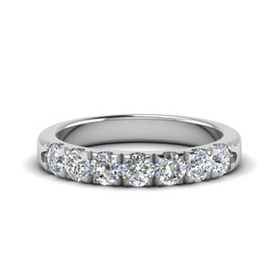 0.75 Ct. 7 Stone Anniversary Ring