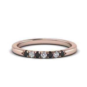 0.15 Ct. Rose Gold Band