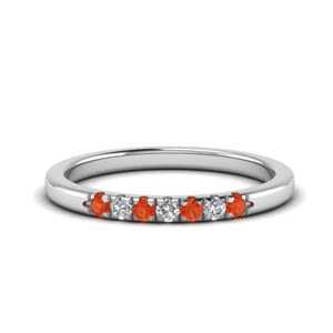 0.15 Ct. 7 Stone Women Anniversary Band