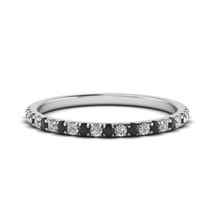 Platinum Delicate Wedding Band