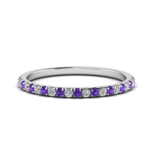 Purple Topaz Band For Women