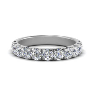 One Carat Women Wedding Band
