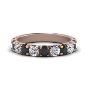 1 Ct. Black Diamond Wedding Band
