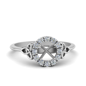 Halo Diamond Ring Mountings