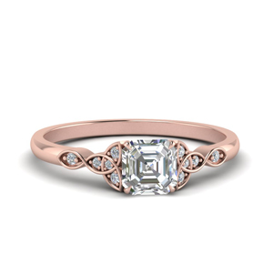 Celtic Vintage Engagement Ring