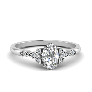 Delicate Diamond Wedding Rings