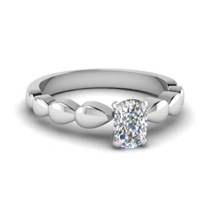 Drain Drop Single Diamond Ring