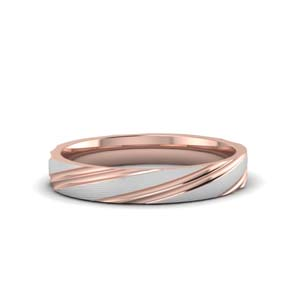 Comfort Fit Men Wedding Band