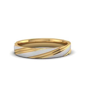 Gold Two Tone Male Band