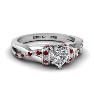 Classic Ruby Engagement Ring