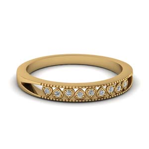 Heart Design Diamond Band
