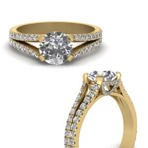 1.50 Carat Split Diamond Ring