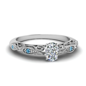 paisley cushion diamond engagement ring with blue topaz in FD69805CURGICBLTO NL WG.jpg