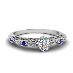 paisley oval diamond engagement ring with sapphire in FD69805OVRGSABL NL WG.jpg