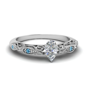 paisley pear diamond engagement ring with blue topaz in FD69805PERGICBLTO NL WG.jpg